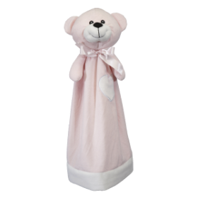 Embroider Buddy Pink Bear Blankey