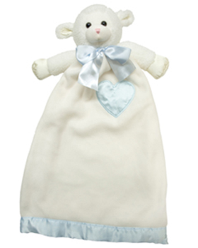 Personalized Lenny Lamb Lovie Security Blanket