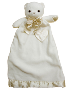 Personalized Cream Bear Lovie Security Blanket (TEMPORARILY OUT OF STOCK)