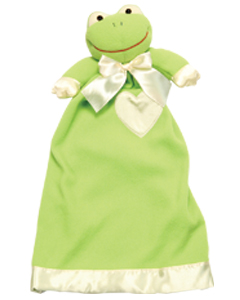 Personalized Frankie Frog Lovie Security Blanket(Out of stock)