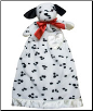 Personalized Domino Puppy Lovie Security Blanket